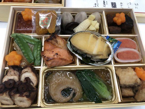 大丸松坂屋のおせち・ささき一門会